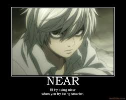 Death Note | Main/Kubrick Stare - Television Tropes & Idioms ... via Relatably.com