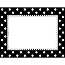 Chart Design Border Buy Barker Creek Ll 830ch Border Chart Black And White Dot