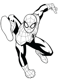 Spiderman Coloring Book Cwoutfitters Co