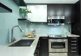 kitchen blue glass backsplash. Exellent Blue Light Blue Backsplash Glass Kitchen Contemporary With Wood  Floors Tile On Kitchen Blue Glass Backsplash C