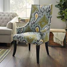 ikat accent chair. Beautiful Accent Blue Ikat Slope Arm Accent Chair And L