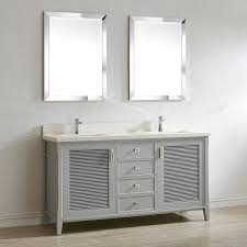 gray double sink vanity. double sink vanities simple bathroom vanity gray i