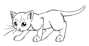 Christmas Cat Coloring Pages Christmas Cat Coloring Pages To Print