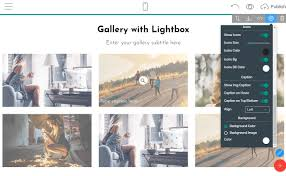 Bootstrap Designs Gallery Best Web Page Builder To Create A Bootstrap Image Gallery