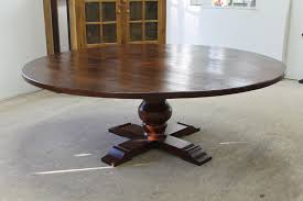 60 round wood dining table within 84 reclaimed pedestal lake and mountain home design 2