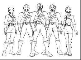 Power Rangers Coloring Sheets Mighty Power Rangers Coloring Pages
