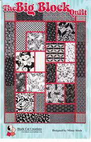 Black Cat Creations: The Big Block Quilt Pattern 811765010254 ... & Black Cat Creations: The Big Block Quilt Pattern Adamdwight.com