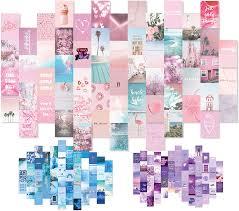Soft Pink Dorm Room Decor Collage Kit ...