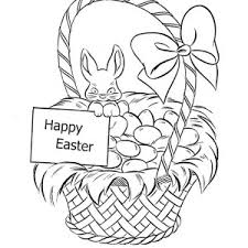 Small Picture Drawing Easter Basket Fill with Eggs Coloring Page Batch Coloring
