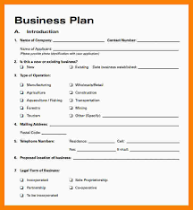 A Simple Business Plan Template 6 Free Simple Business Plan Template Marlows Jewellers