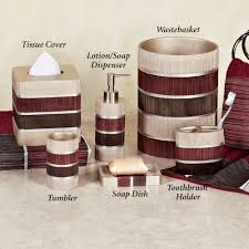 modern bathroom accessories sets. Traditional Modern Bathroom Bath Accessories Glamorous Red In Decor Sets R