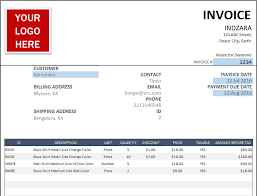 Excel Invoice Format Free Invoice Template Sales Invoice Template For Small Business