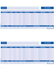 free uk payslip template download slpay1 compatible sage payslips 2 per page blue various pack sizes
