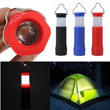 Camping Hiking Tent Light Lantern Mini Led Flashlight Torch ...
