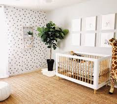 baby jungle animal nursery decor
