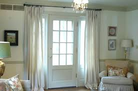 window treatments for french doors elegant coverings in kitchen