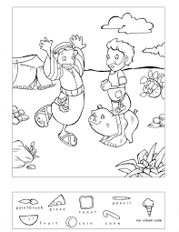 Small Picture hidden object puzzle and coloring pages Bible Class Ideas