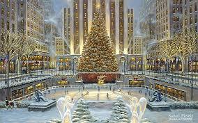 Merry Christmas Snow Globe New York Stock Vector 348242708 Christmas Gifts New York