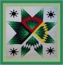 14 best Native images on Pinterest   DIY, Creativity and La la la & Diane's Native American Star Quilt: Earth Day Star Quilt Adamdwight.com