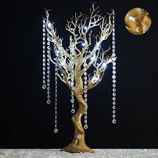 diy lighting for wedding. 30-034-Glittered-Manzanita-Tree-with-LED-Lights- Diy Lighting For Wedding