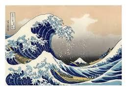 Resultado de imagem para hokusai gravuras