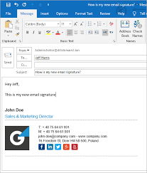 How To Create Outlook 2019 Signature