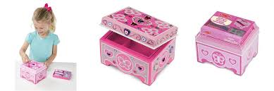 Melissa And Doug Decorate Your Own Jewelry Box DecorateYourOwn Wooden Jewelry Box by Melissa Doug Toys 12