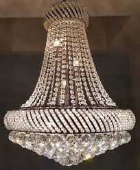 chandelier of high quality crystal late last century