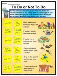 Earthquakes are a sudden and quick shock of the earth's surface. Earthquake Facts Worksheets Impact Historic Earthquakes For Kids