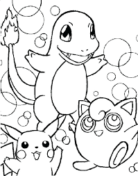Pokemon Coloring Pages Printable Coloring Pages And Friends All