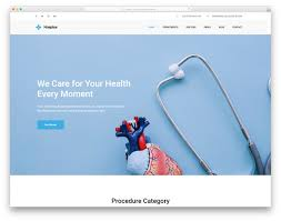 31 Best Free Medical Website Templates For Clean Pages 2019
