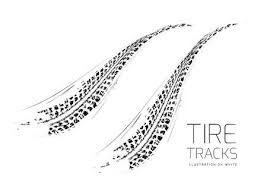 tire skid marks vector. Fine Marks Tire Tracks Background And Skid Marks Vector A