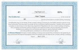 Template For Stock Certificate Free Stock Certificate Online Generator
