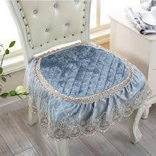 computer chair seat cushion. European Chair Seat Cushions Lace Non Slip Dining Computer Chairs Cushions-in Cushion From Home \u0026 Garden On Aliexpress.com