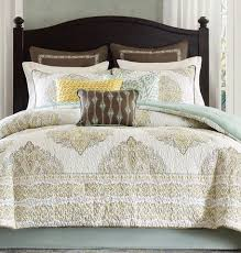 Modavi Damask Quilt Comforter Set