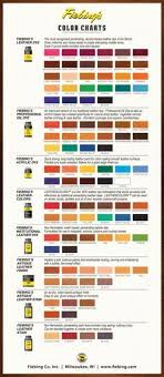 Fiebings Suede Dye Color Chart 2014 Dye Color Chart Fiebings Leather Dye For Gourd Crafts