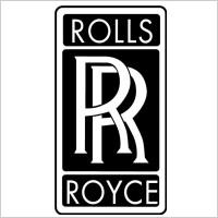 rolls royce font. rolls royce logo vector font