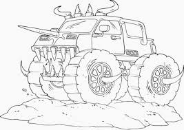 Small Picture Best Monster Trucks Coloring Pages 26 For Your Picture Coloring