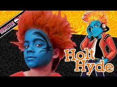 holt hyde monster high doll costume makeup tutorial for