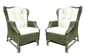basket wicker chair indoor wicker chairs and ottomans erfly wingback chair indoor wicker arm chair