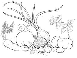 Small Picture Vegetables coloring pages Free Coloring Pages
