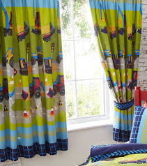 Lined Bedroom Curtains Farmyard Animal Fully Lined Pair Of Curtains 66 Inch X 72 Inch 183