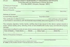 sr22 sr22a georgia insurance
