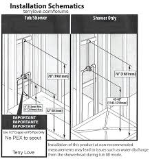 how to install tub and shower faucet and are too for a tub spout diy replace how to install tub and shower faucet