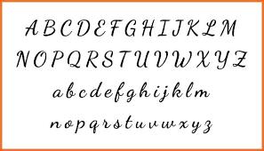 Fancy Cursive Handwriting Evesanders Club