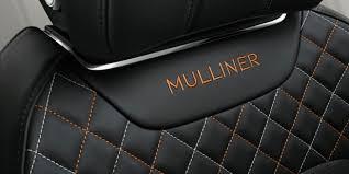 2018 bentley bentayga mulliner. fine mulliner car seat embroidery of the bentley bentayga mulliner badge   motors on 2018 bentley bentayga mulliner