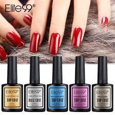 elite99 top base coat set long lasting no wiping top coat base matte effect uv gel nail polish shiny sealer gel nail art gelous nail gel from justinbk