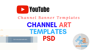Youtube Template Psd Youtube Channel Art Template Psd Youtube Banner Template