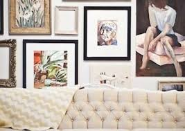 The most common living room wall decor material is stretched canvas. Picture Wall Ideas 18 Picture Perfect Approaches Bob Vila