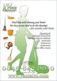 Housekeeping Flyers Templates Housekeeper Flyers Templates Rome Fontanacountryinn Com